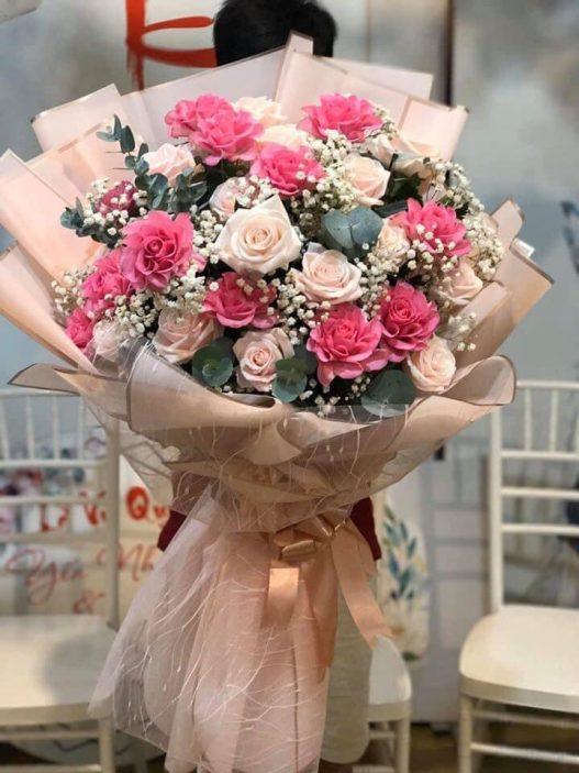 mẫu hoa tặng mẹ tại shop hoa Bắc Ninh