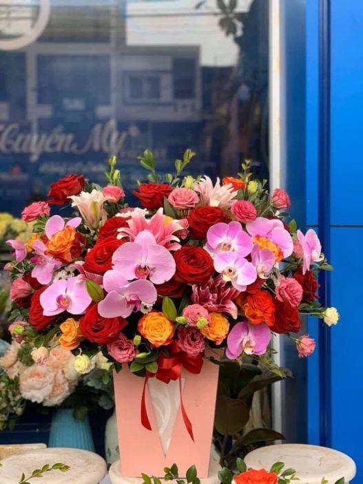 Mẫu Hoa tặng Sếp nam tại Từ Sơn