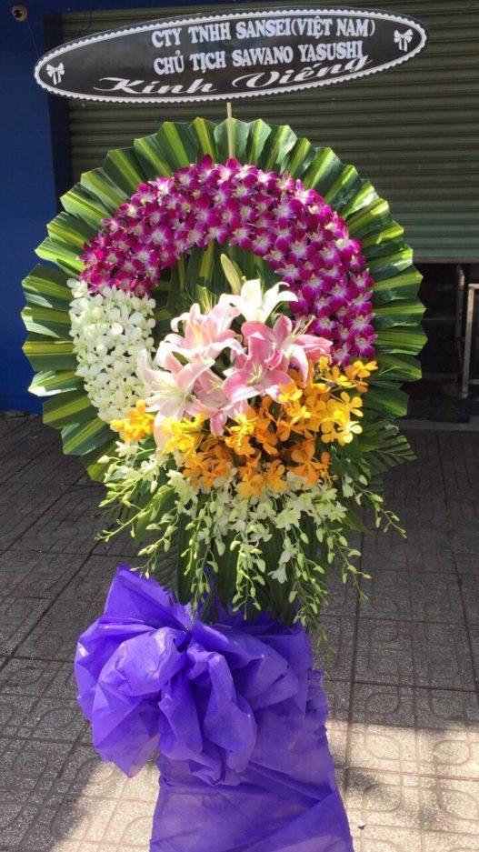 vòng hoa viếng tại Bắc Ninh