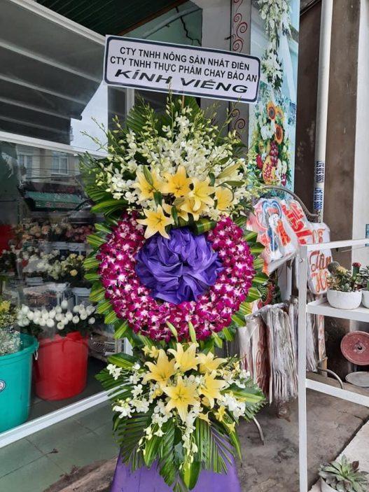 hoa tang lễ tại từ sơn từ sơn
