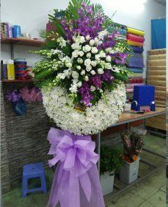 hoa chia buồn giá rẻ Huyện Gia Bình